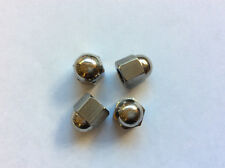 1/4 CYCLE THREAD 26TPI DOMED NUTS TRIUMPH BSA SET OF 4