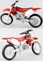 Honda CRF 450R - 1:12 Die-Cast Motocross Mx Motorbike Toy Model Bike Red Maisto