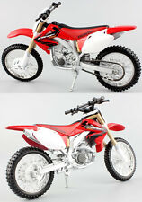 Honda CRF 450R - 1:12 Die-Cast Motocross Mx Motorbike Toy Model Bike Red Maisto