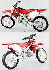 HONDA CRF 450r - 1:12 Die-Cast Motocross Mx Motocicleta Modelo Juguete Rojo