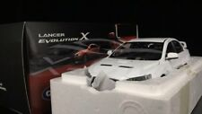 Car Model Mitsubishi Lancer Evolution X EVO X LHD BBS Wheels 1:18 (White) + GIFT