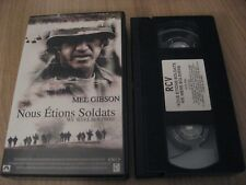 NOUS ETIONS SOLDATS / WE WERE SOLDIERS VHS FRENCH MEL GIBSON SAM ELLIOTT
