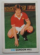 FKS Soccer Stars 1977-1978 NUMBER 230 GORDON HILL
