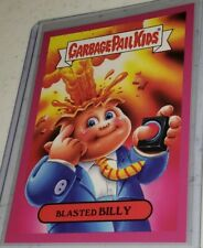 GARBAGE PAIL KIDS GPK BLASTED BILLY 2018 MEMES 2b of 10 RARE RED BORDER /25