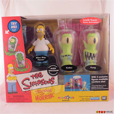 Simpsons Treehouse of Horror Alien Spaceship Homer, Kang and Kodos - box set