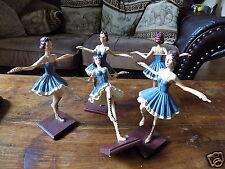 Twirling Bâton Figurine Majorette Statuette Twirling 23 cm, SUPERBE, Peinte Main
