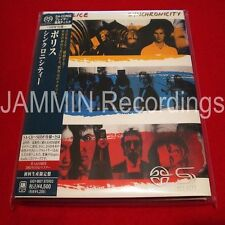 THE POLICE - SYNCHRONICITY - JAPAN MINI LP  - SACD SHM - BRAND NEW  - UIGY-9027