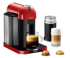**NIB** BREVILLE - NESPRESSO Vertuo & Aeroccino3 Red Coffee and Espresso Maker