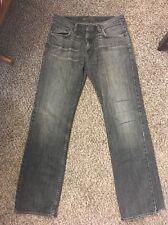 Bullhead Slim Straight Grey Jeans Size 32x34