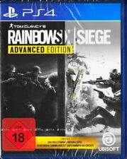 Tom Clancy's Rainbow Six: Siege - ADVANCED EDITION - PS4 Playstation 4 Neu & OVP