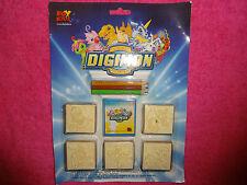 DIGIMON TIMBRI Digital Monsters Stamps Fox Kids Plush Figure 2000 Akiyoshi Hongo