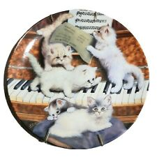 1998 Bradford Exchange Litter Rascals Making Music Collectors Plates Porcelain