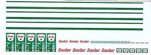 Sinclair  Gas Station Decal Set