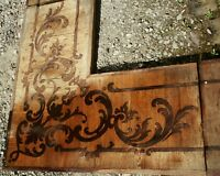 Schloss Villa Parkett Barock Rokoko Intarsien Renovierung Historische Baustoffe
