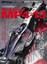 GP Car Story Vol.18 McLaren MP4-13 book F1 Mika Hakkinen modeling detail