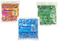 Mentos Assorted Pillow Pack x 1.6kg BulkFavors Mint Fruit Spearmint Minty Chews