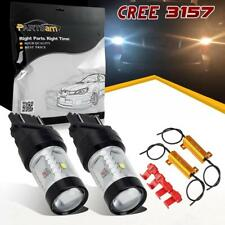 2Pcs 6-Cree-XBD 3157 4114 4157 Front Turn Signal Light + Resistors for Chrysler