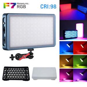 Falcon Eyes F7 Kits RGB LED tragbares magnetisches Taschenlicht Spezialeffekte