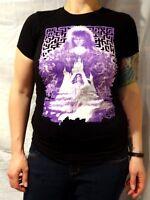 Labyrinth David Bowie Sara Goblin King Movie T-shirt Rock Me Size Junior's Small
