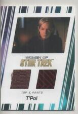 "Star Trek Women of 50th Anni DUAL Costume Trading Card No.RC10 ""T'Pol"""