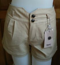 DressNStyle NWT SEMIR Beige Sexy Walking Shorts from JAPAN S25 Silky Spandex