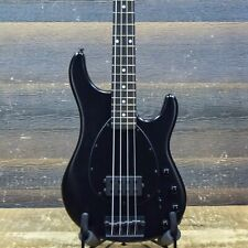 Ernie Ball Music Man Sterling 4 H Stealth Black 4-String El. Bass w/Case #F78896
