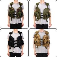 USMC Tactical Modular Waistcoat Vest Carrier Pouch Combat Assault Swat   YI