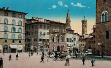 Firenza (Florence),Piazza della Signoria,Used,1936