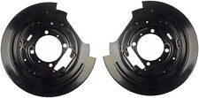 Ford F150 Rear Disc Brake Dust Shield Pair Dorman 924-215 Expedition 97 98 99 00