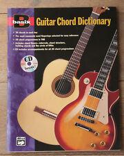 Basix: Guitar Chord Dictionary Guitar Book & CD