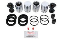 AUDI 100 S4 1991-1994 FRONT L & R Brake Caliper Repair Kit +Pistons (BRKP374)