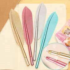 2pcs/lot Cute Gel Pens Office School Accessories Fashion Feather Style Pen