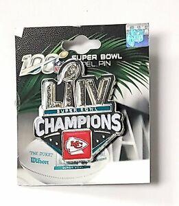 Kansas City Chiefs Super Bowl LIV Champions Metal Lapel Pin Hat Emblem Football