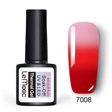 Lemooc Esmalte Gel térmica 8ml para Arte en Uñas Soak Off Gel Uv que Cambia de Color Barniz #8