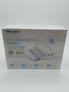 TP-LINK TL-WPA4220KIT 300Mbps AV500 Powerline Edition Wi-Fi Range Extender Kit