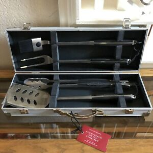Williams-Sonoma Barbeque Grill 4 Piece Tool Set - Pre-owned