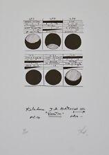 Richard TEXIER - Estampe originale - Lithographie - Variatious
