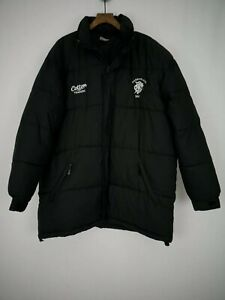 Cotton Traders | Barbarians Rugby Puffer Jacket Winter Coat | Sz XL Black Result