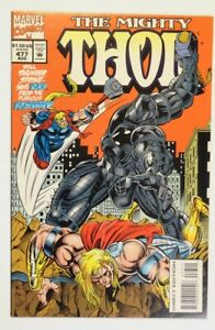 Thor #477 (9.2NM-/3rd APP Don Blake/Early APP God Pack/APP Hela-Garm-Destroyer!)