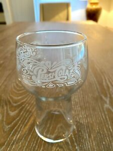 Vintage Taco Bell Pepsi Cola Drinking Glass Clear 16oz.