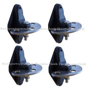 4 Stück Torgriffisolatoren mit  3 Anschlussmöglichkeiten für Torgriffe