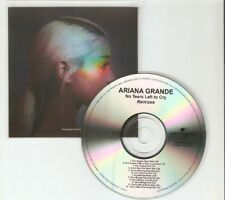 "ARIANA GRANDE ""NO MORE TEARS LEFT TO CRY"" RARE BRAZILIAN 12 REMIX CD PROMO"