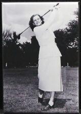 "Babe Didrikson Zaharias B&W Photo 2"" X 3"" Fridge / Locker Magnet."