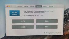 32GB (4x 8GB) Memory Ram for Apple Mac Pro 2009-2012 DDR3 1333Mhz PC3-10600R