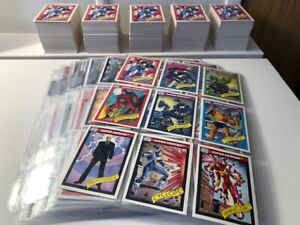 1990 Marvel Universe Cards - Finish Your Set - Dropdown Menu - $5 Flat Shipping