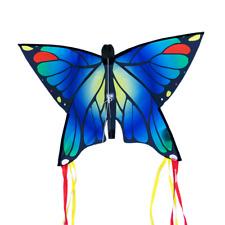 CIM Kinder-Drachen Butterfly Blue Flugdrachen drachenfliegen inkl. Drachenschnur
