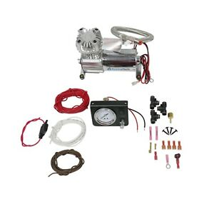 Towing Assist Air Bag Suspension Load Controller On Board Compressor Kit