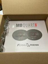 "MB QUART(R) FKB169 MB Quart(R) Formula Series 2-Way Coaxial Speakers (6"" x 9"")"