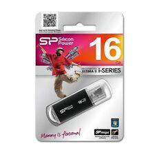 16GB HI-SPEED USB FLASH KEY PEN THUMB SPLASH DISK DRIVE STICK ULTIMA-II BLACK