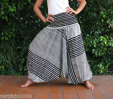 New Handmade Baggy Hippy Genie Yoga Harem Pants Trousers Jumpsuit 15jk